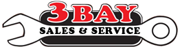 3 Bay Sales & Service Auto Repair Logo
