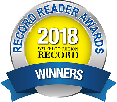 Waterloo Region Record Readers Choice Award Winner